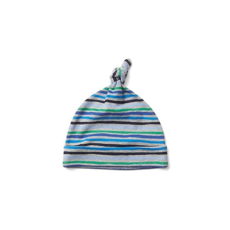 ee4ad5fd00d3b Proteja a su bebé del frio con estilo con este lindo gorro 100% algodón  para pequeños artistas de Baby Gap.