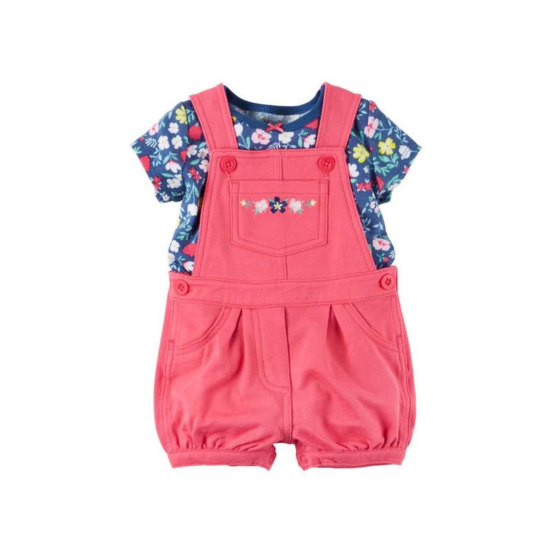 a2c83e1f8 Que tu niña se vea linda con este acogedor pack de 2 piezas hecho en suave  algodón para que tu bebé este cómoda