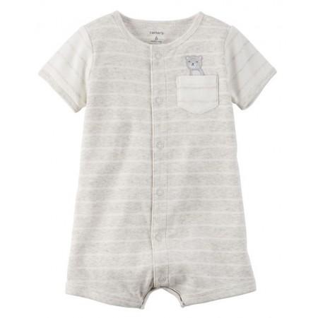Carters enterizo tipo mameluco manga corta 100% algodón para bebé niño de 12 Meses