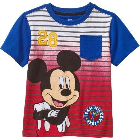 Disney Mickey Mouse polo manga corta para niño talla 4T