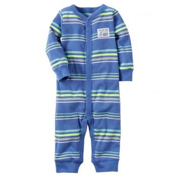 4c7b0a2c8a Carter s Pijama tipo enterizo serie Sleep   Play color azul para bebé niño  de 3 a 6 meses