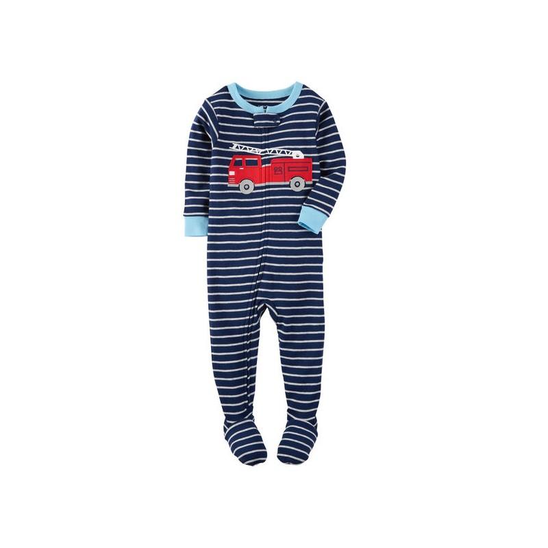a977dcfca Su niño llevará este pijama desde el momento de la siesta hasta para jugar  gracias a su algodón de alta calidad de Carter s