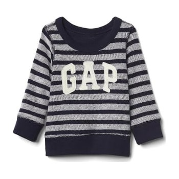 08dfda4f3cf Baby GAP Polera 100% algodón french terry color dark night para bebé niño  de 12 a 18 meses