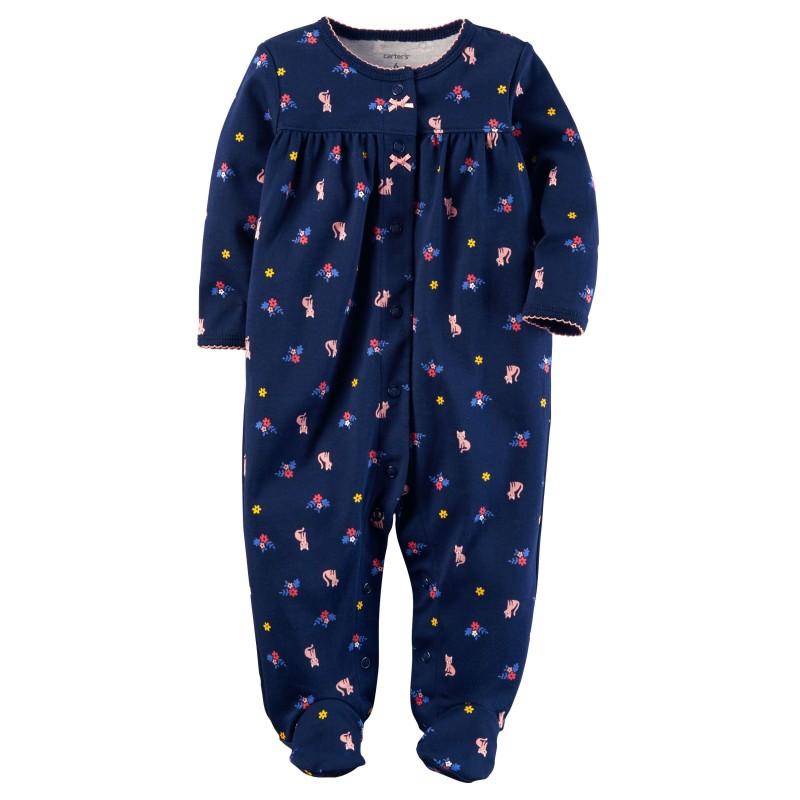 8c6ccfb7f Ropa Carter s Perú Pijama footies algodón Sleep   Play bebé niña 6M