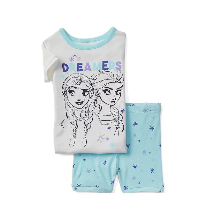 73aff46ee0 Que tu niña descanse este verano con este lindo pijama Baby Gap hecho en  suave algodón con los personajes de Frozen de Disney