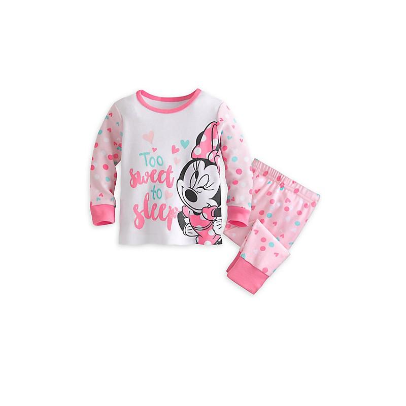 dafd30e36 Que tu niña duerma cómoda y abrigada con este lindo pijama de Minnie Mouse  importado del DisneyShop de EEEUU